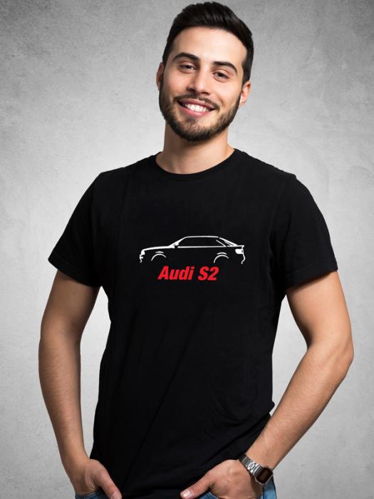 Tričko s motivem Audi S2