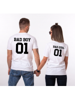 Tričko Badboy Badgirl pro páry