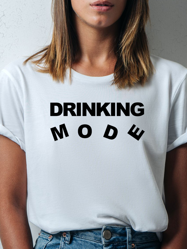 Tričko Drinking mode