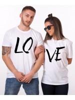 Tričko LOVE pro páry