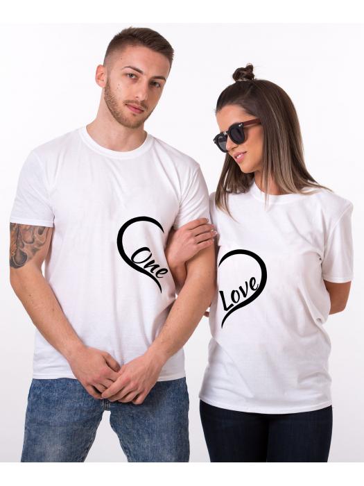 Tričko One Love pro páry