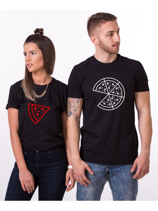 Tričko Pizza couple pro páry