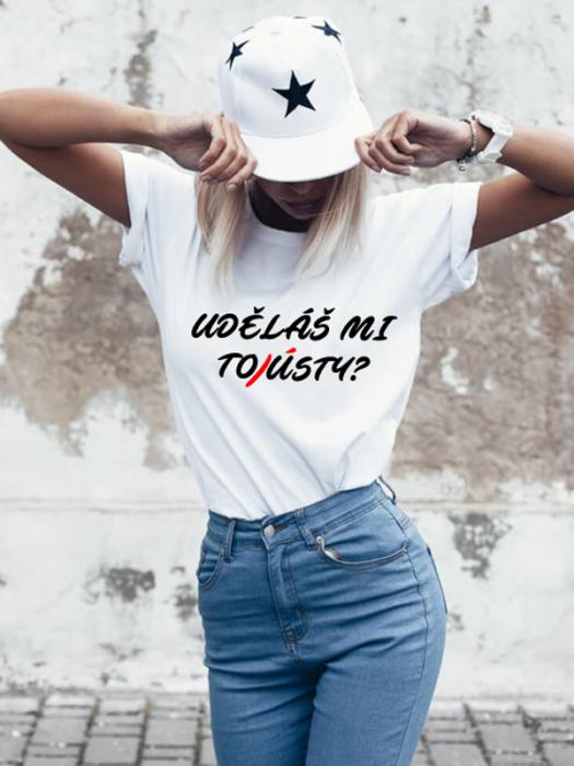 Tričko s motivem Tousty